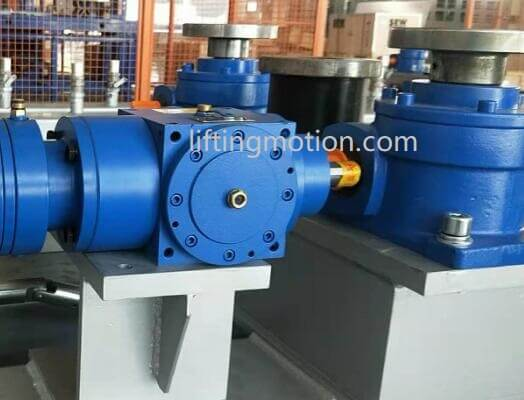 Bevel gearboxes application