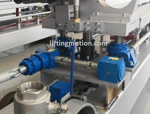 Spiral Bevel Gearbox Reducers Application