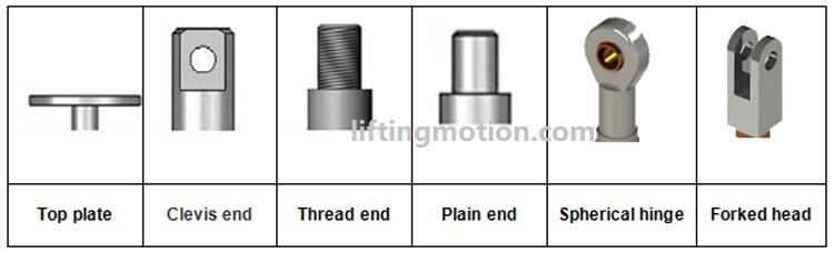 machine jack top end option