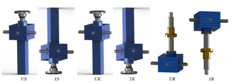 Screw Configuration & Mounting Orientation