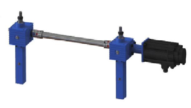 I-Configuration screw jack lift