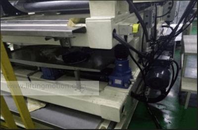screw jack project Battery Film Equipment