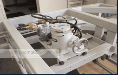 screw jack project Equipment Adjustment