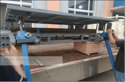 screw jack project Radar Reversal Control
