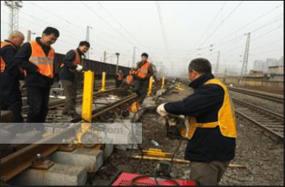 screw jack project Railway Transportation