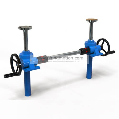 hand crank acme jacks screw jack with hand wheel