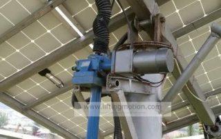 Solar-tracking-machine-screw-jack-actuators