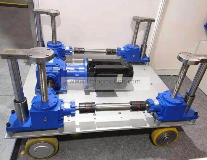 Screw jack case study---Automated Guided Vehicles