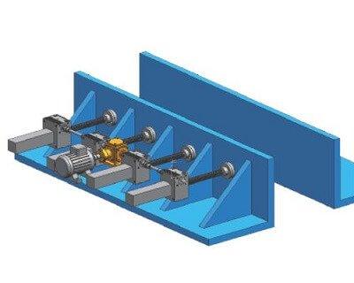 Horizontal electric Screw Jack Platform