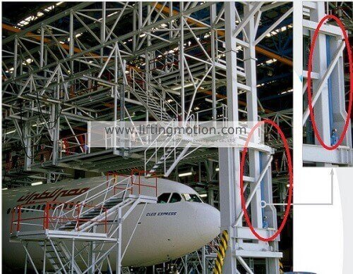 Screw-Jack-for-aircraft-lifting-and-maintenance