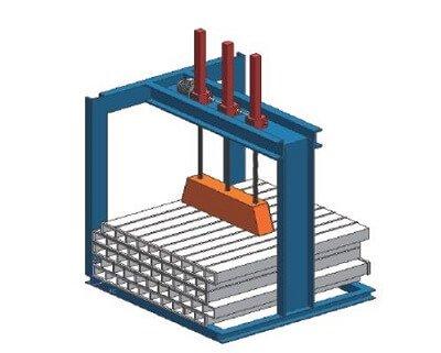 screw jack platform For Aligning Steel
